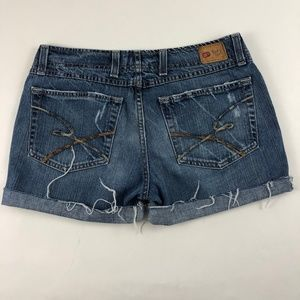 Buckle BKE Denim Harlow Stretch Cut Off Shorts